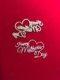 Words #15 happy Mother's Day scrapbooking Cutting Die