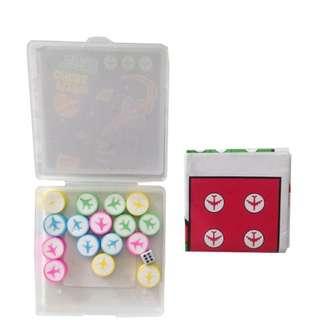 (Preorder Bulk Purchase)  Flying Chess Eraser Set x10