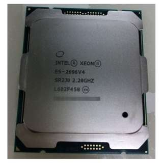 (二手)90%NEW Intel® Xeon® Processor E5-2696 v4 CPU