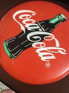 Coca-Cola Metal Plate