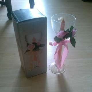 Vase with Candle