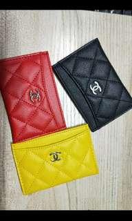 ❤💛🖤Chanel VIP gift cardholder spring colour