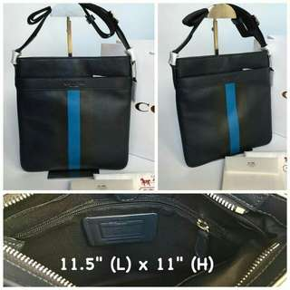 FREE SHIP Coach Bag for Men sling crossbody style2