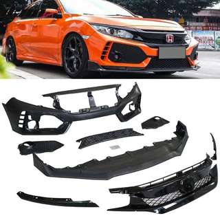HONDA CIVIC FC CONVERT TO TYPE R BUMPER