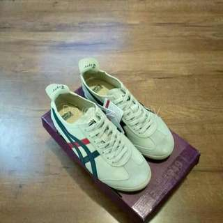 (Best Seller) Onitsuka Tiger Mexico 66 Cream White Red