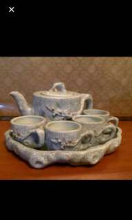 Teaset with tray