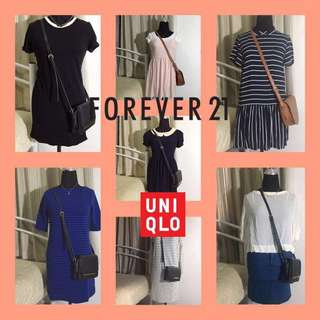 Forever 21 and Uniqlo Dress