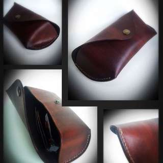 Handcrafted Full Grain Leather Sunglass Case