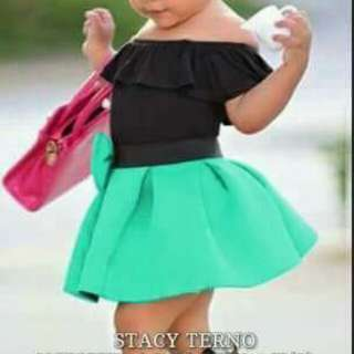 3in Top+skirt+turban