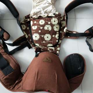Like new I-angel hipseat carrier