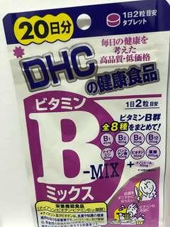 DHC 健康食品維他命 B雜20日分$22蚊包郵
