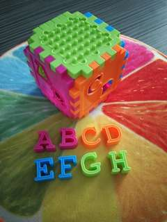 Rainbow Alphabet puzzels