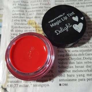 TONY MOLY lip tint magic delight tint lip tint in jar lip gloss shade 03