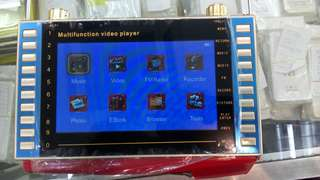 Multifunction video player (mp4)