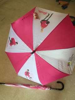 BN Barbie Umbrella