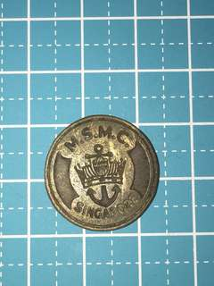 🔥Clearance🔥 Singapore MSMC Token 1957 Rare
