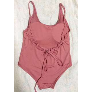onhand Old rose Bikini / one piece swimsuit