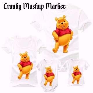 Winnie The Pooh Family/Couple Tee (CMM-FCTR)