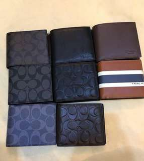 AUTHENTIC COACH VARIATION SMALL WALLET