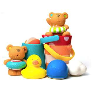 Hape Teddy Bathing Set