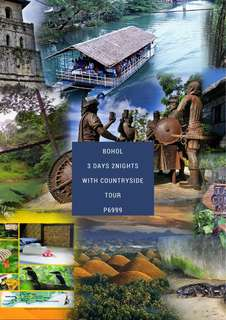 3D2N bohol with country side tour