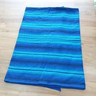 BN Girasol Aqua Azul Dark Wrap Size 6