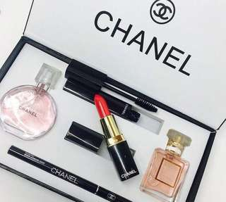 Set make up chanel yuu branded