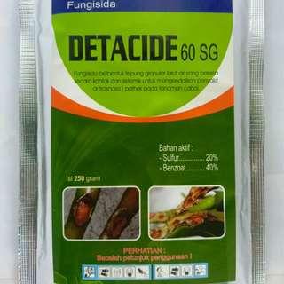 Fungisida DETACIDE 60 SG 250 gram