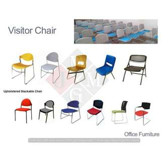 Stackable-Visitor-Clerical-Mesh-Executive Chairs*
