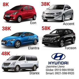 Hyundai Brand New Car 8k Dp only!