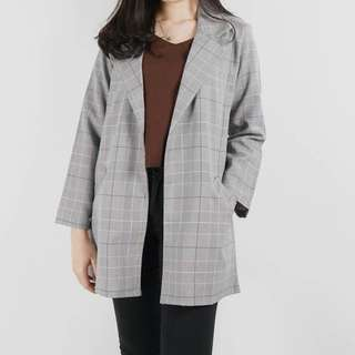 Square Blazer Outer