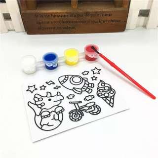 (Preorder Bulk Purchase) Sticker Painting x 10pcs