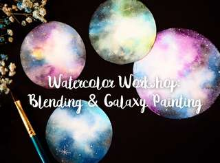 Galaxy Watercolor Workshop