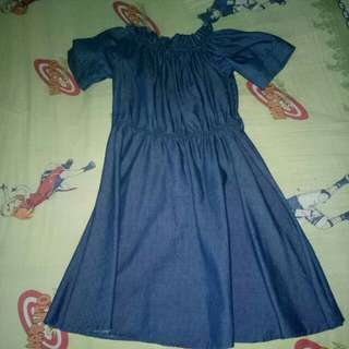 REPRICED Navy Blue Dress
