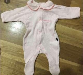 BONDS baby pink newborn rompers