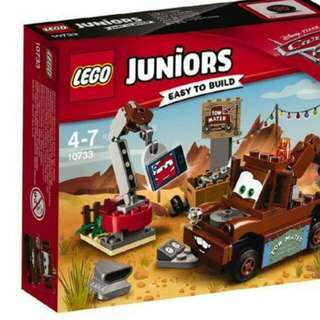 Lego junior cars 10733 metal's junkyard