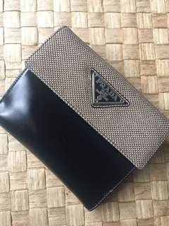 Authentic Prada Wallet- Preloved