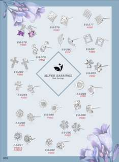 10% discount Stud Earing Price Indicated Each Picture :)
