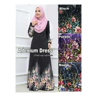 Adenium Dress