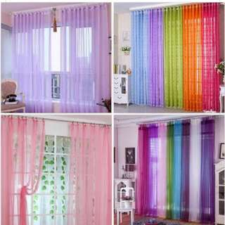 Rainbow Curtain