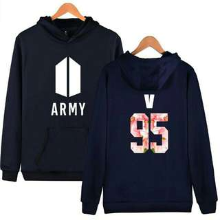 Bts Army V Sweater Hoodies