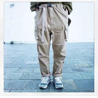 [交流優先]goopi 3-D patchwork jungle pants 卡其2號