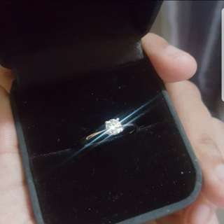 DIAMOND RING (Hearts and Arrows)
