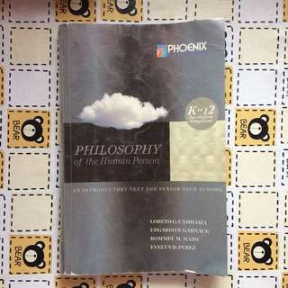 (PHOENIX) Philosophy of the Human Person