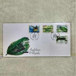 singapore (新加坡) stamp-FDC