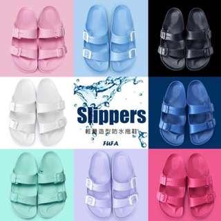 🔥台灣製造 💕富發牌輕量級親子防水拖鞋🔥