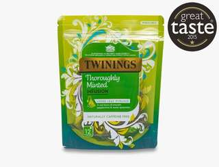 Twinings THOROUGHLY MINTED INFUSION - 12 PYRAMID BAGS 川寧薄荷茶-12茶包裝