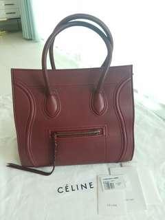 100%Real Celine Luggage Phantom Bag