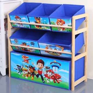 PO Paw Patrol Storage drawers/ boxes