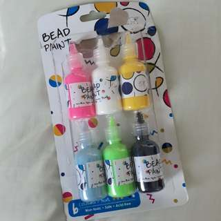 #blessing 6 bottles Bead paint Non toxic